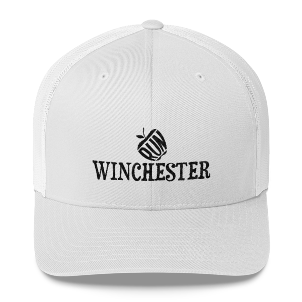 b72e8678a Run Winchester Trucker Cap - White